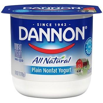 Dannon All Natural Yogurt