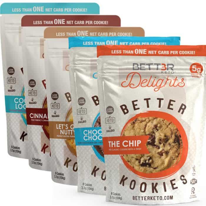 Healthy Sweet Snacks #1: Bett3r Keto